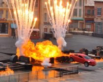 Lightning McQueen at Hollywood Studios