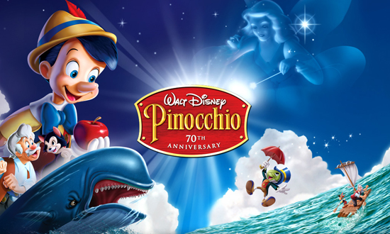 Pinocchio Celebrates 70 Years | Blogging Disney  Pinocchio 70th Anniversary Edition Dvd