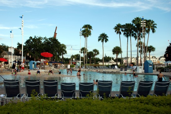Stormalong Bay at Disney's Yacht Club Resort