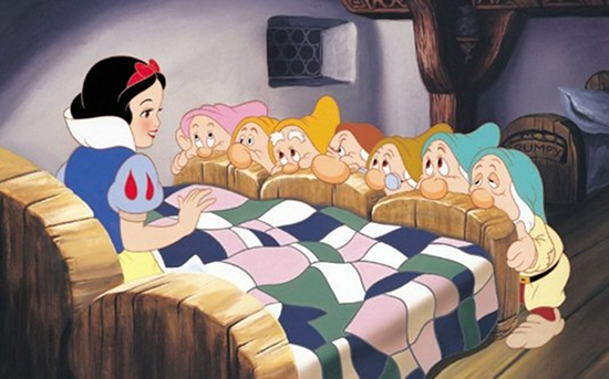Snow White and the Seven Dwarfs (1937). The film was the first
