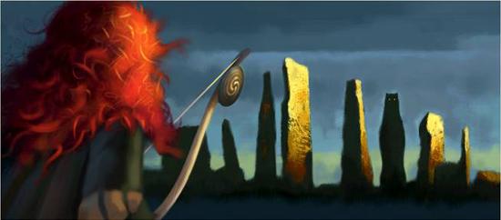 pixar brave. Concept art from Pixar#39;s Brave