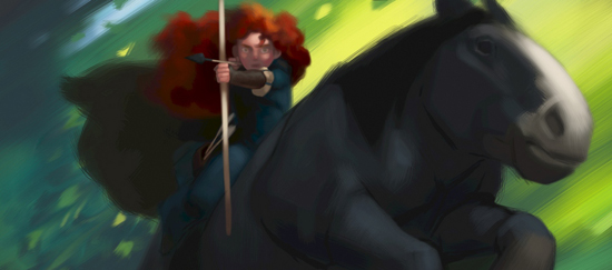 pixar brave concept art. Concept art from Pixar#39;s Brave