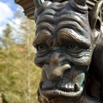 Gargoyle Statue, photograph by Samantha McElhaney