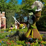 Captain Hook Topiary, photograph by Samantha McElhaney