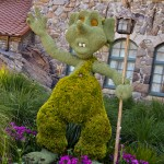 Troll Topiary, photograph by Samantha McElhaney