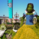Snow White Topiary, photograph by Samantha McElhaney
