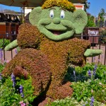 Dopey Topiary, photograph by Samantha McElhaney